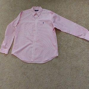 Men's Ralph Lauren Shirt XL EUC